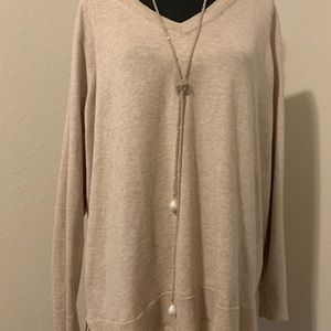 Lane Bryant oat color sweater